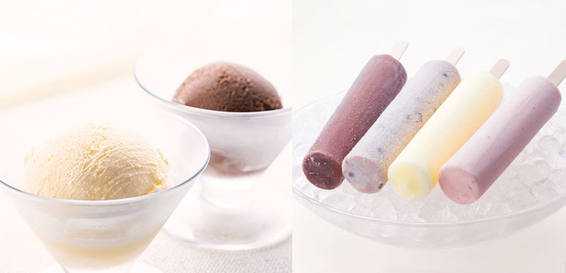 アイスキャンディ CHAYAアイス