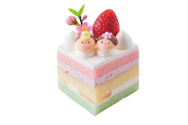 ひし形ミニケーキ