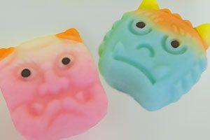 節分上生菓子 赤鬼-青鬼