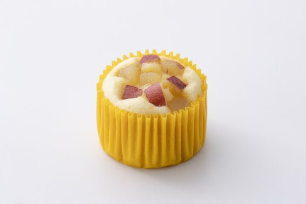 ごろっとお芋の蒸しケーキ