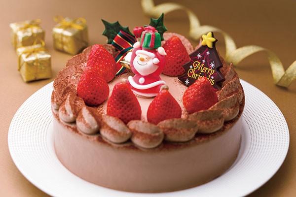 クリスマス・生チョコクリームデコレーション
